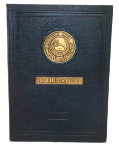 1930 The Blue and Gold, Derry Township High School Yearbook - Derry, PA