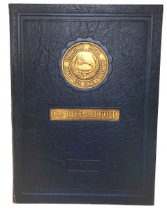 1931 The Blue and Gold, Derry Township High School Yearbook - Derry, PA
