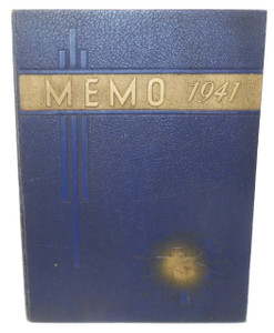 1941 The Memo, St. Mary's Catholic / Elk County Christian High School Yearbook - St. Marys, PA