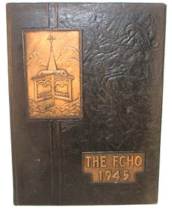1945 The Echo High School Yearbook - Curwensville, PA