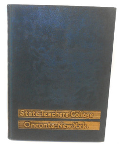 1945 The Oneontan Oneonta State Teacher's College Yearbook - Oneonta, NY