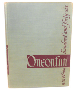1946 Oneonfan State Teacher's College Oneonta NY Yearbook