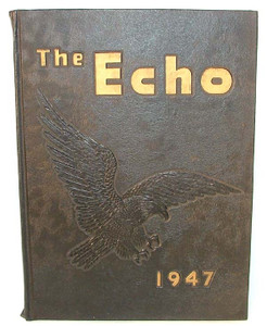 1947 The Echo High School Yearbook - Curwensville, PA