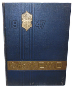 1947 The Memo, St. Mary's Catholic / Elk County Christian High School Yearbook - St. Marys, PA