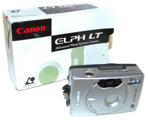 Canon Elph LT APS Film Camera With Box & Manual