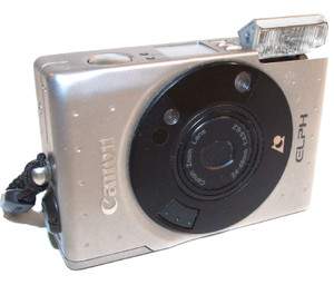 For Parts - Canon Elph Compact 35mm Film Camera