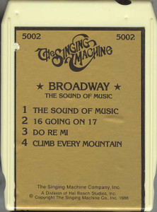 #5002 Broadway - The Sound of Music / 16 Going on 17 / Do Re Mi / Climb Every Mountain