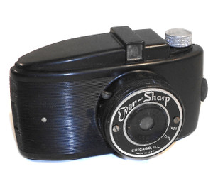 For Parts - Ever-Sharp Vintage Early Plastic Film Camera