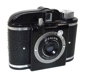 For Parts - Vintage Whitehouse Products Beacon Plastic Film Camera