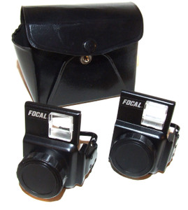 Focal Brand Auxiliary Telephoto and Wide Angle Lenses for Kodak Disc Cameras