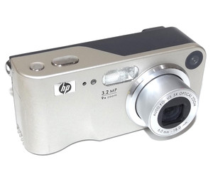 Vintage HP 3.2MP 9x Zoom Digital Camera