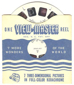 Vintage View-Master Reel - Alvin and the Chipmunks  - #5211 Reel 1