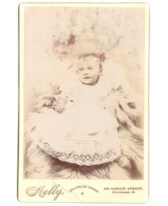 1895 Baby Ruth Ussher Cabinet Card Photograph - Cleveland, OH