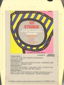 101 STRINGS ORCHESTRA: Play & Sing the Songs Made Famous by Elton John