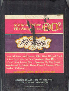 101 STRINGS ORCHESTRA: Million Seller Hit Songs of the 60's