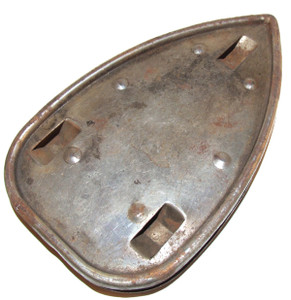 Old Unsigned Clothes Iron Trivet - 7 5/8 inches