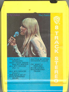 MARY TRAVERS: All My Choices -23012