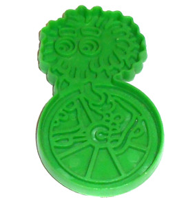 1987 McDonald's Green Fry Guy Impression Cookie Cutter