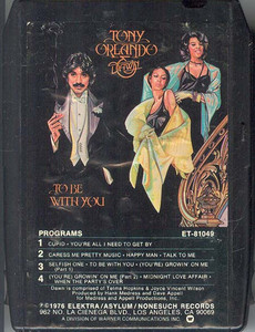 TONY ORLANDO & DAWN  To Be With You