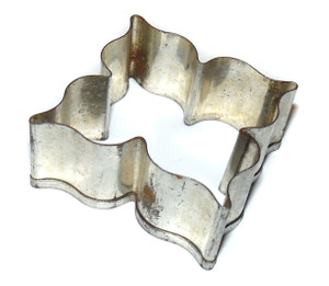Vintage Tin Stylized Flower Shaped Handmade Cookie Cutter
