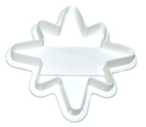 Vintage Wilton Christmas Star Shaped Cookie Cutter