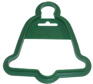 Wilton Bell Shaped Vintage Plastic Christmas Cookie Cutter