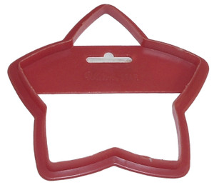 Wilton Star Shaped Vintage Plastic Christmas Cookie Cutter