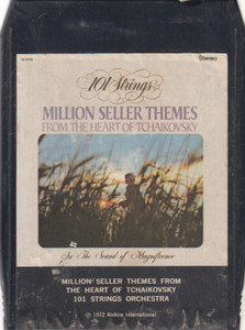101 Strings Orchestra: Million Seller Themes from the Heart of Tchaikovsky -2536