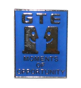 Vintage GTE Moments of Opportunity Lapel Pin