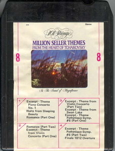 101 STRINGS  Play Million Seller Themes from the Heart of Tchaikovsky