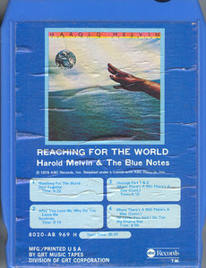 Harold Melvin & the Blue Notes: Reaching for the World -15996