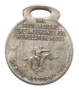 Old Paul Revere Life Insurance Company Watch or Key Fob