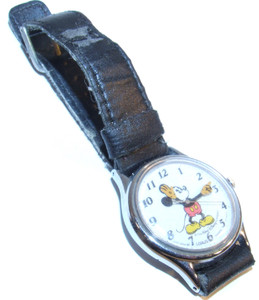 For Parts - Lorus Walt Disney Mickey Mouse Wristwatch