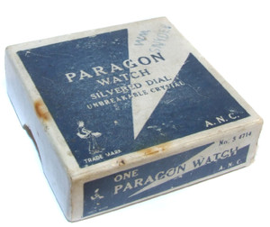 Paragon Watch No. S 4714 Two-Piece Original Pocket Watch Box