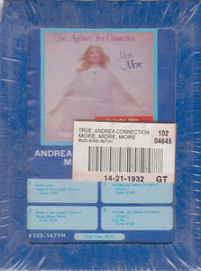 Andrea True Connection: More, More, More  8 Track Tape