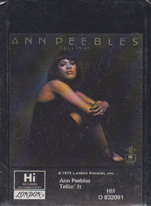 Ann Peebles: Tellin' It  8 Track Tape