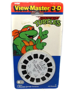 Vintage 1991 NOS Teenage Mutant Ninja Turtles View-Master Reels #1073 Tyco Pack