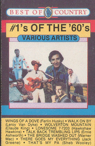 #1's of the 60's Cassette Tape