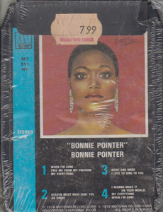 Bonnie Pointer: Self-Titled  8 Track Tape