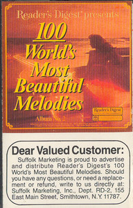 100 World's Most Beautiful Melodies - #2 -5723 Cassette Tape