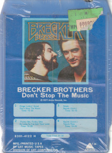 Brecker Brothers: Don't Stop the Music  8 Track Tape