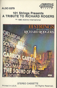101 STRINGS: A Tribute to Richard Rogers Cassette Tape