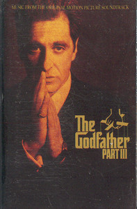 The Godfather Part III -Soundtrack Cassette Tape