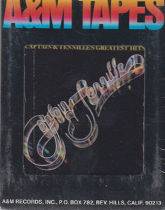 Captain & Tennille: Greatest Hits  8 Track Tape