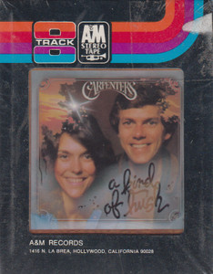 Carpenters: A Kind of Hush  8 Track Tape