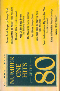#1 Hits of the 80's - #3 Cassette Tape