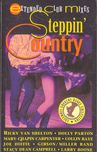 Steppin' Country Cassette Tape