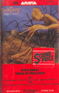 The Dixie Dregs: Dregs of the Earth Cassette Tape