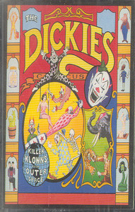 The Dickies: Killer Klowns Cassette Tape