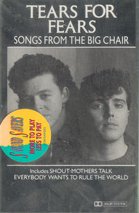 Tears for Fears: Songs from the Big Chair -29111 Cassette Tape